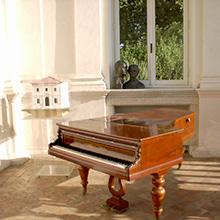 Piano Pleyel di Liszt a Villa Lante