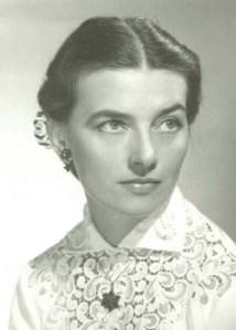 Una foto giovanile di Matilde Capuis
