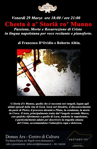 Locandina spettacolo Albin-D'Ovidio