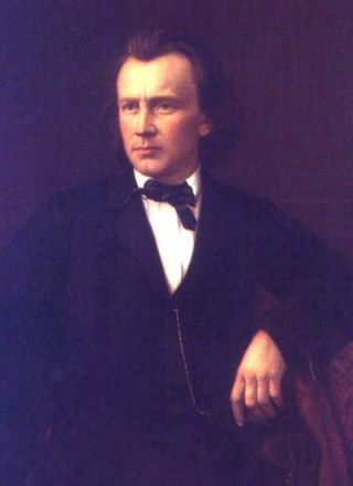 Johannes Brahms 1860