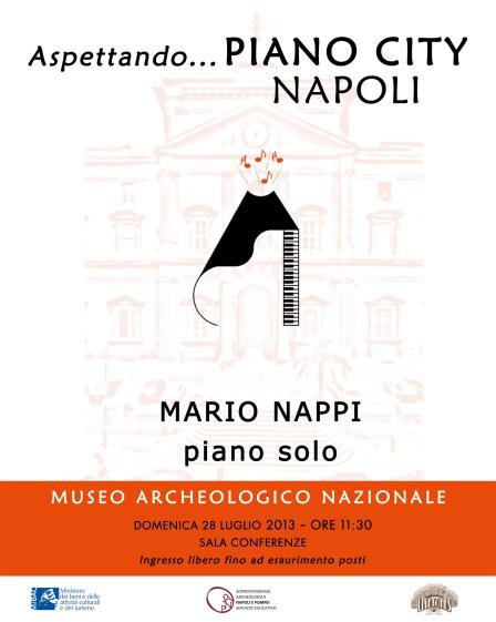 Locandina Aspettando Piano City Napoli - 28 luglio