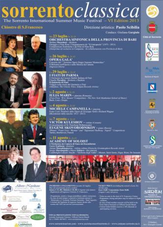 Locandina sorrento classica 2013