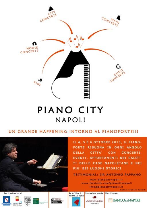 Locandina Piano City Napoli 2013