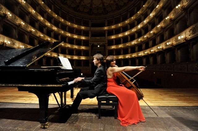 Duo Chiesa-Baglini (Foto D'Agostino)