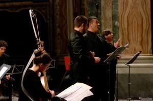 Fabio Anti, Enrico Vicinanza, Maddalena Pappalardo (foto Giovanni Caiazzo)
