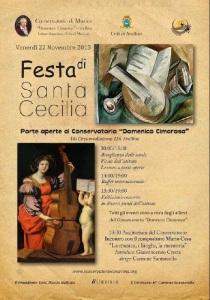 Santa Cecilia al conservatorio di Avellino