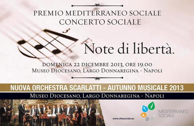 Locandina Concerto Sociale
