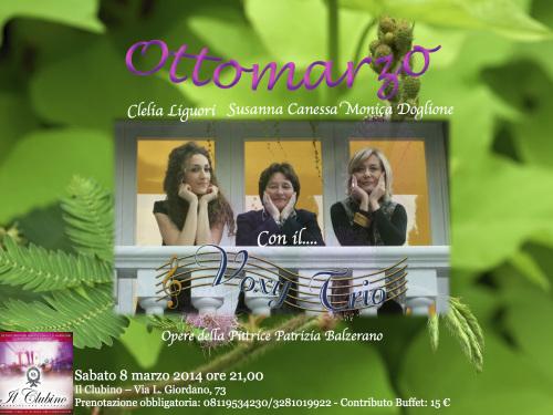 Locandina Susanna otto marzo