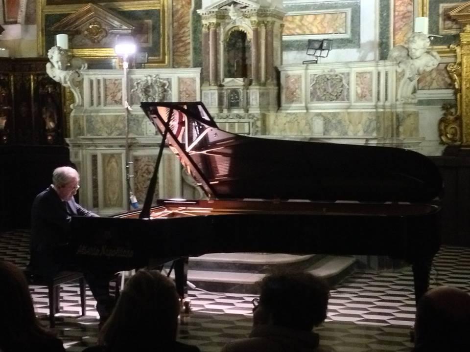 Il festival pianistico di napolinova apre con la grande - Antonio palma ...