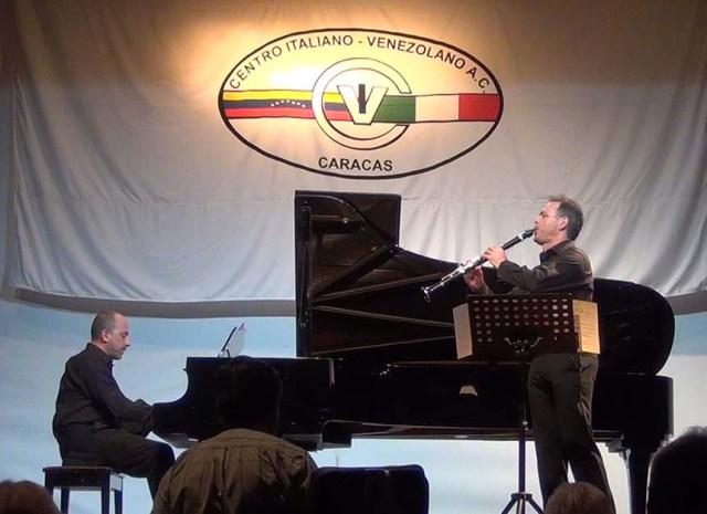 Concerto al Centro Italiano-Venezolano