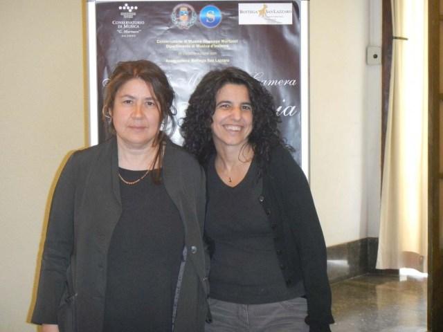 Francesca Taviani e Anna Bellagamba