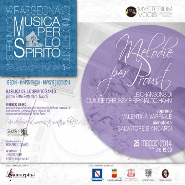 Locandina Musica per lo Spirito 25 maggio
