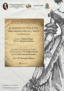 La Traviata ad Avellino - Manifesto