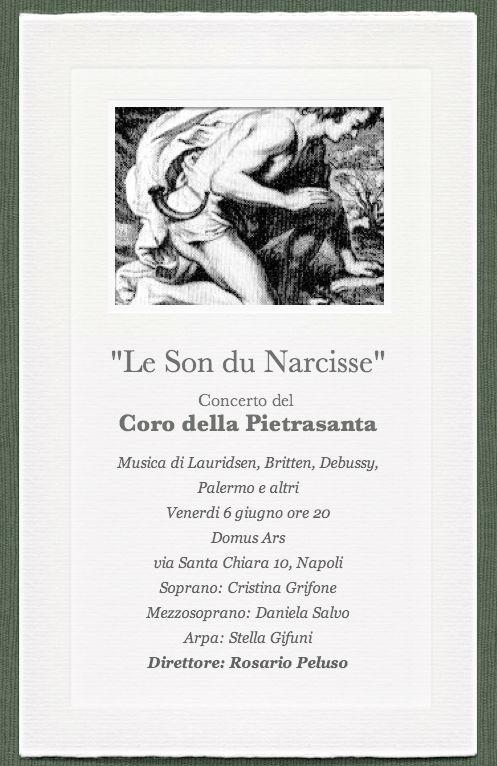 Locandina Le son du Narcisse