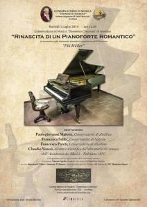 PIANOFORTE ROMANTICO ad Avellino