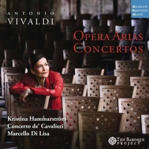 Copertina cd Vivaldi arie d'opera e concerti