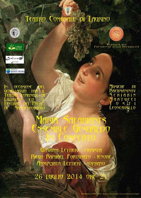Manifesto concerto Ensemble Gesualdo