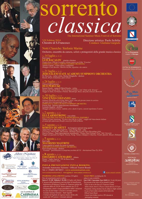 Manifesto Sorrento Classica 2014