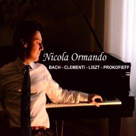 Copertina cd Nicola Ormando