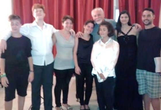 Napolinova - concerto masterclass Ionescu