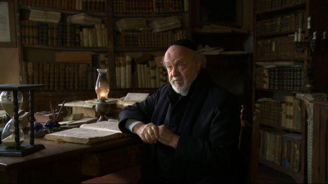 L'attore Renato Scarpa in una scena del film