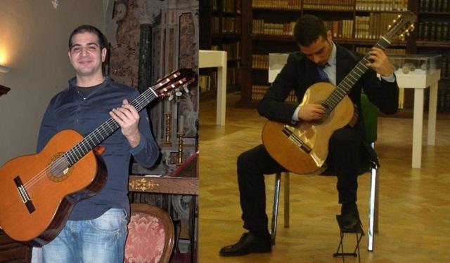 Alberto Falcione e Daniele Aiello