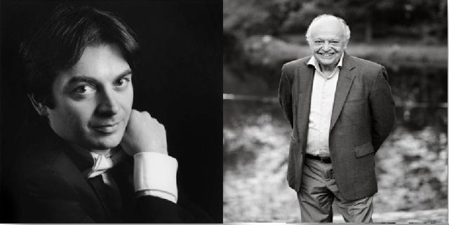 Photo Credits: Greco by Luca Bolognese; Maazel by Molly M. Peterson