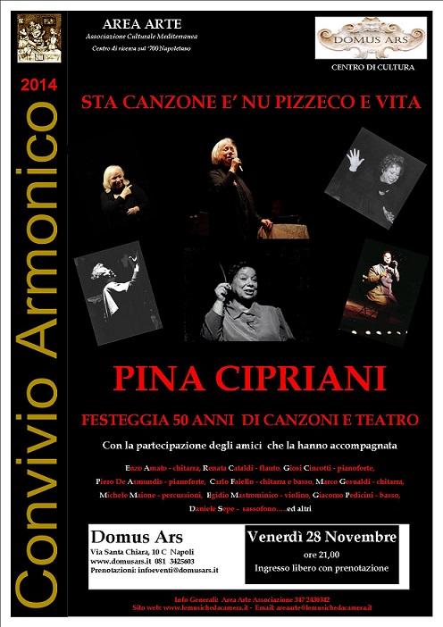 Locandina Pina Cipriani 28-11