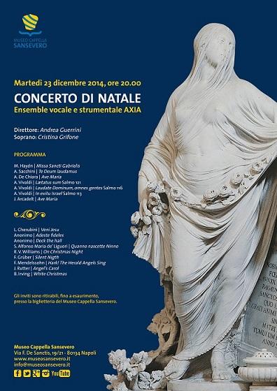 Concerto Natale Cappella Sansevero 2014