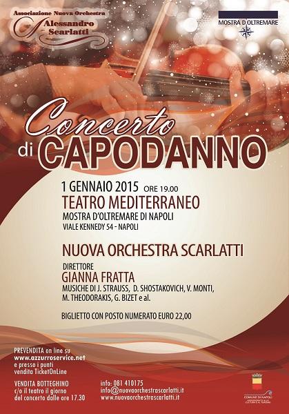 Locandina Concerto di Capodanno 2015 NOS