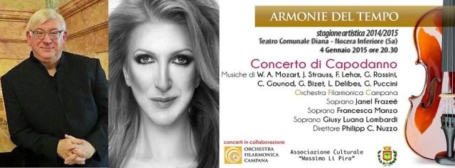 Locandina Concerto di capodanno OFC