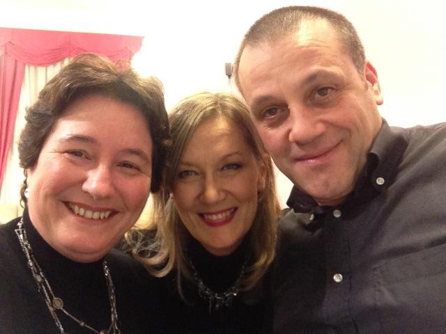 da sin.: Susanna Canessa, Monica Doglione e Nicola Rando