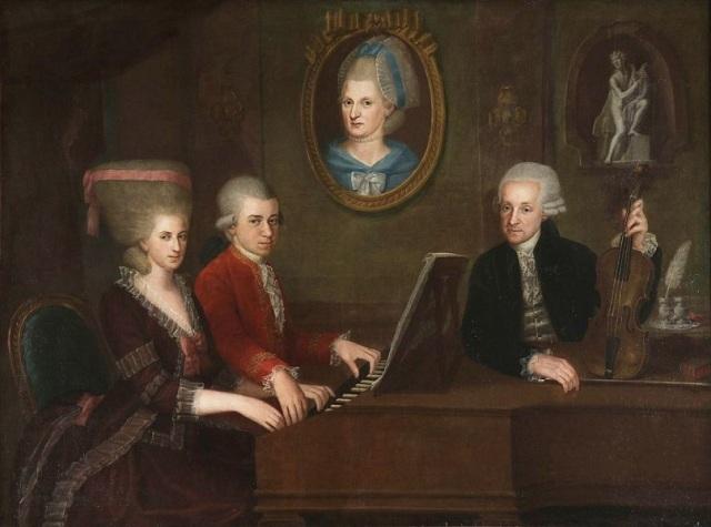 Johann Nepomuk della Croce - La famiglia Mozart