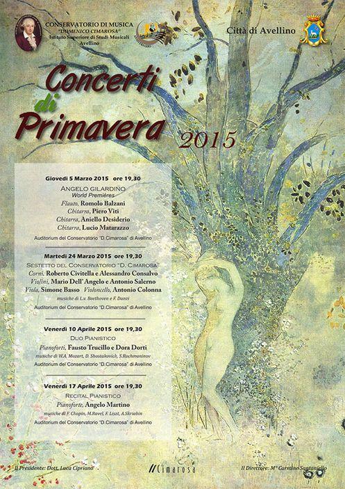 Concerti di Primavera 2015-Conservatorio di Avellino