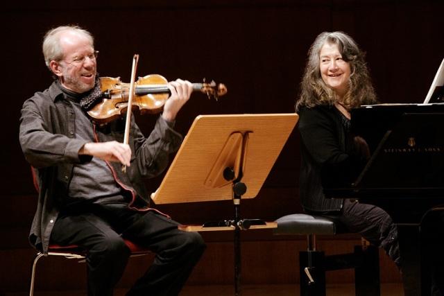 Gidon Kremer, Violine, Martha Argerich, Piano