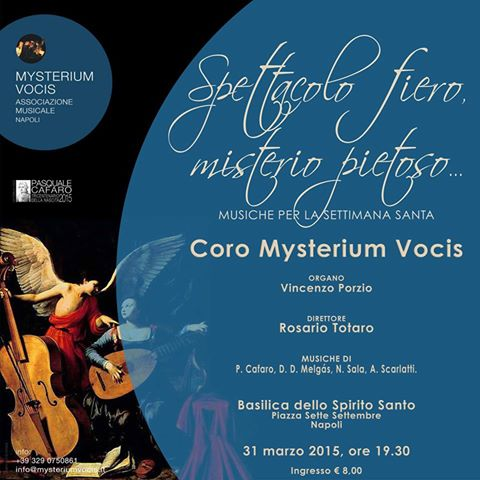 Mysterium Vocis - locandina 31 marzo 2015