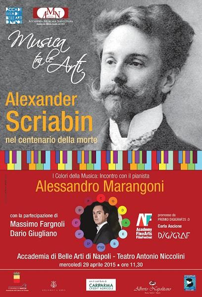 Locandina Scriabin-Accademia Belle Arti