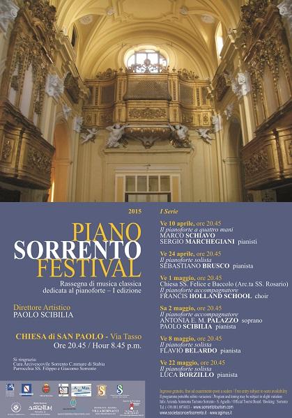 Locandina Sorrento Piano Festival