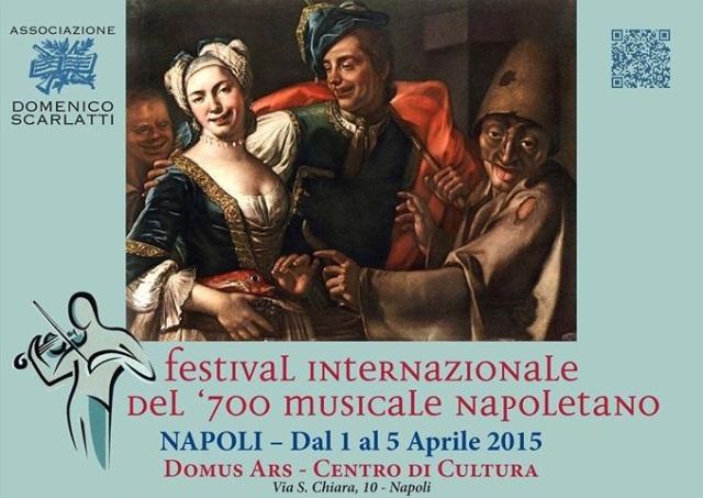 Manifesto Festival Internazionale del Settesento napoletano