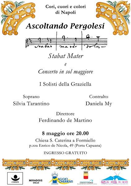 Locandina concerto Solisti della Graziella 8 maggio