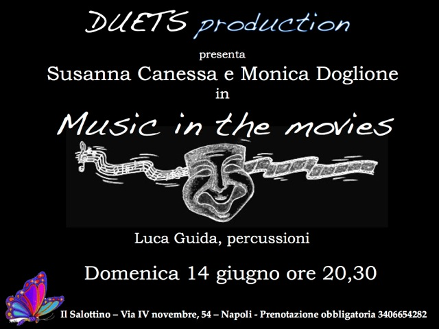 Locandina Music in the movies al Salottino