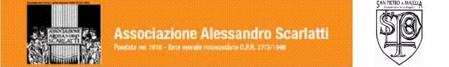 Logo Associazione Scarlatti + Logo Conservatorio