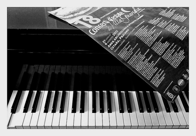 Concerti d'estate di Villa Guariglia visti da Francesco Truono