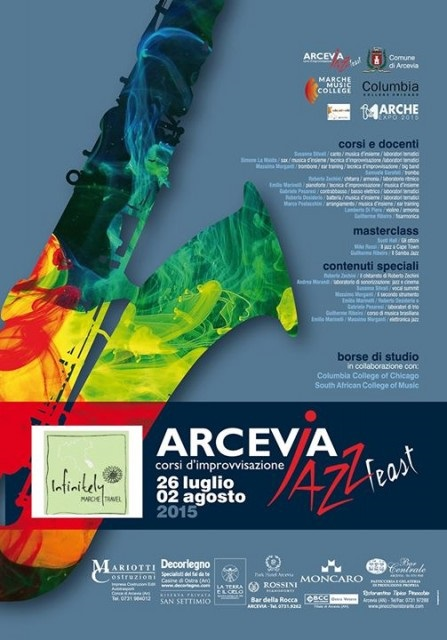 Locandina Arcevia Jazz Feast