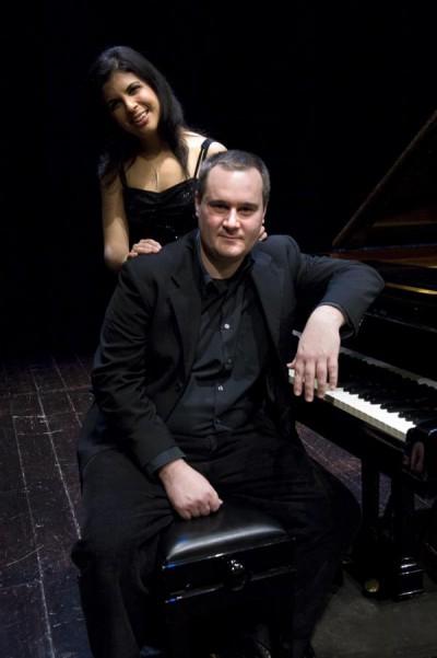 Michele Francesconi e Laura Avanzolini