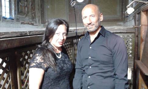 Rosa Montano e Mauro Castaldo