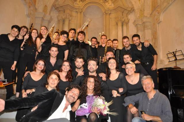 """Cast """"Opera da tre soldi"""" al completo"""