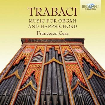 Copertina cd Trabaci - Musica per organo e clavicembalo