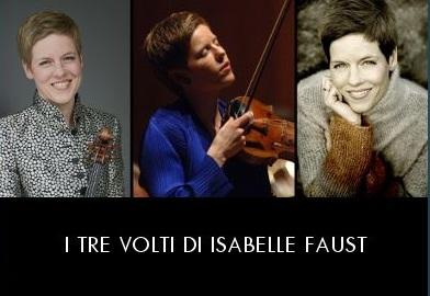 I tre volti di Isabelle Faust