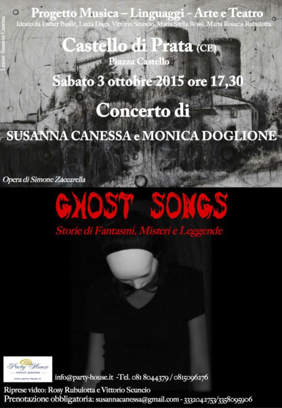 Locandina Ghost songs Pratabianco